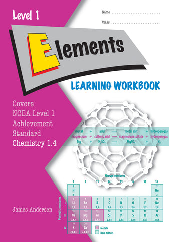 Level 1 Elements 1.4 Learning Workbook