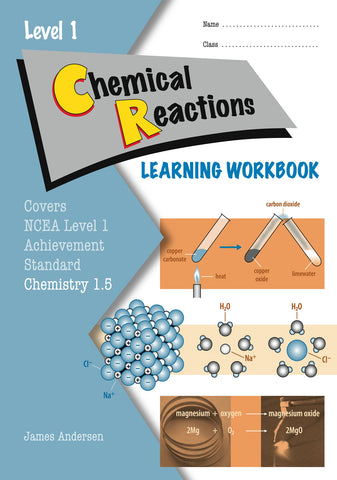 Level 1 Chemical Reactions 1.5 Learning Workbook