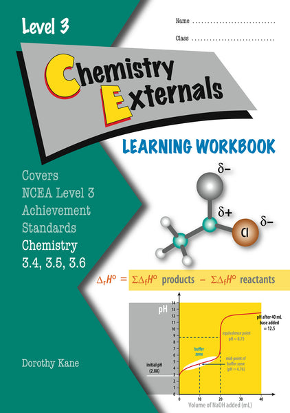Level 3 Chemistry Externals Learning Workbook