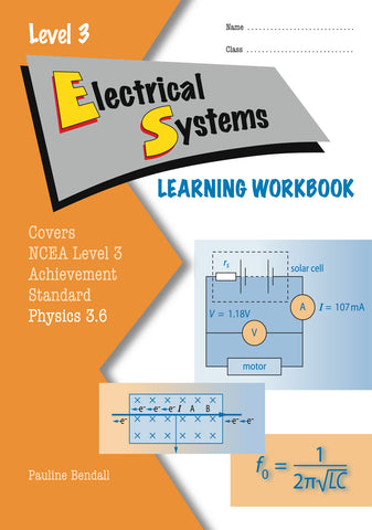Level 3 Electrical Systems 3.6 Learning Workbook