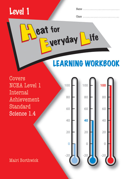 Level 1 Heat for Everyday Life 1.4 Learning Workbook