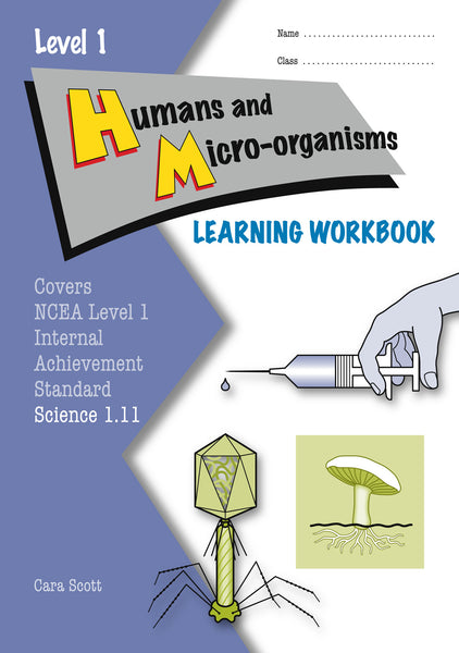 Level 1 Humans and Micro-organisms 1.11 Learning Workbook