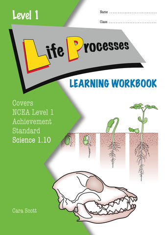 Level 1 Life Processes 1.10 Learning Workbook