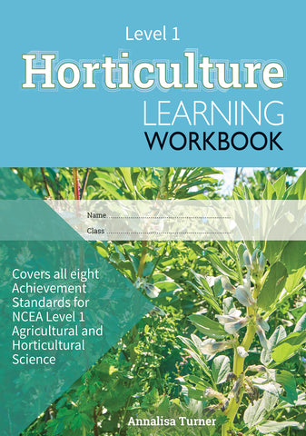 Level 1 Horticulture Learning Workbook