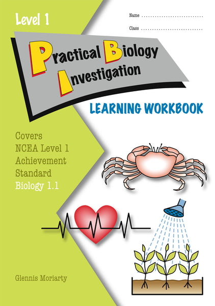 Level 1 Practical Biology Investigation 1.1 Learning Workbook