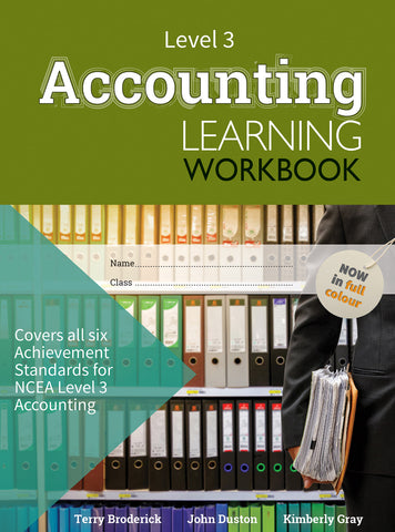 Level 3 Accounting Learning Workbook