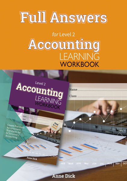 Full Answers for Level 2 Accounting Learning Workbook