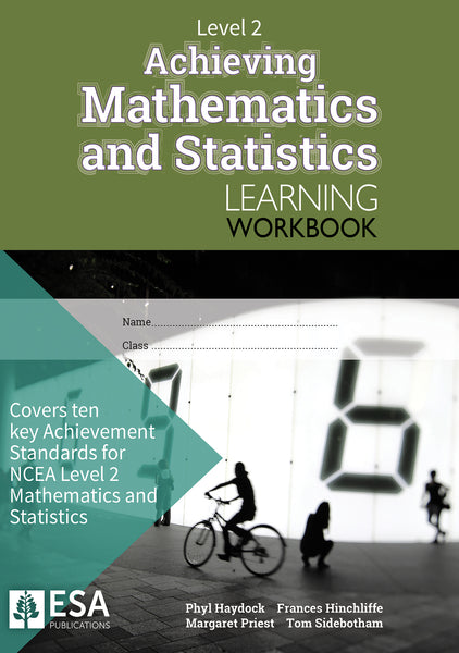 Level 2 Achieving Mathematics and Statistics Learning Workbook (new edition)
