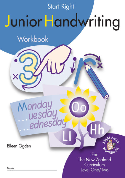 Junior Handwriting Start Right Workbook