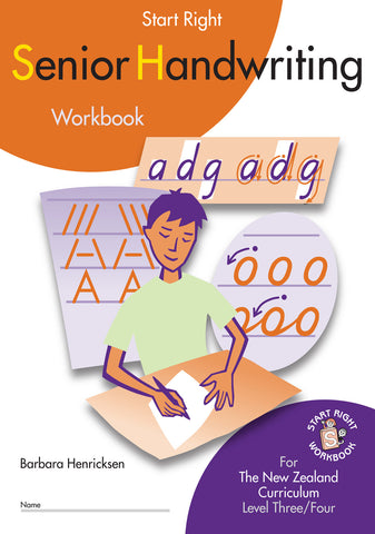 Senior Handwriting Start Right Workbook
