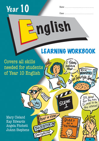 Year 10 English Learning Workbook