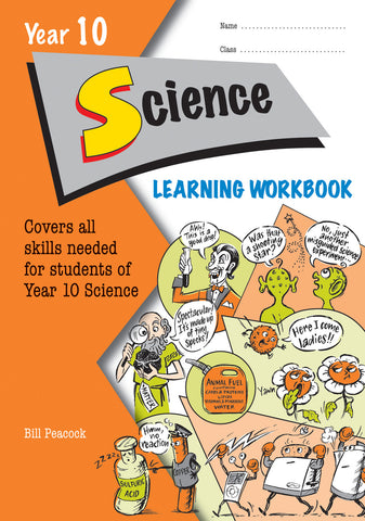 Year 10 Science Learning Workbook