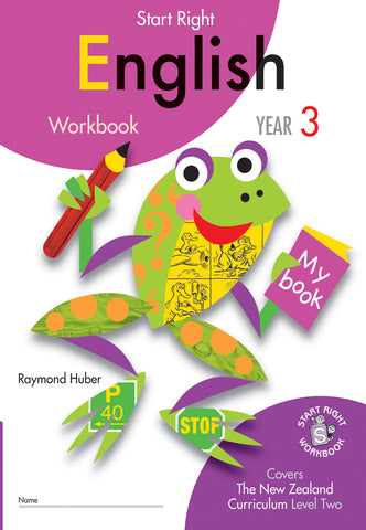 Year 3 English Start Right Workbook
