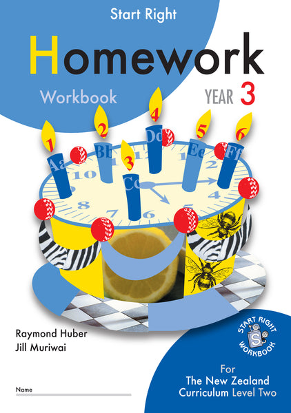 Year 3 Homework Start Right Workbook