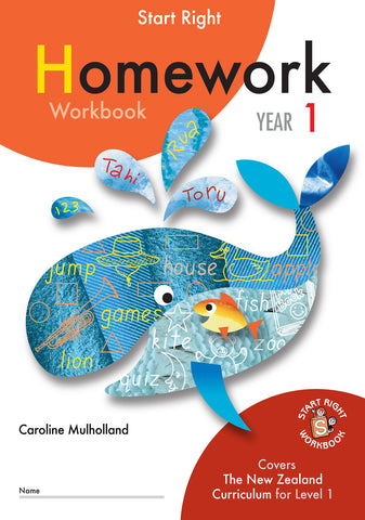 Year 1 Homework Start Right Workbook