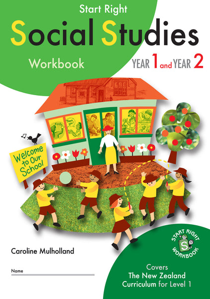 Year 1 and Year 2 Social Studies Start Right Workbook