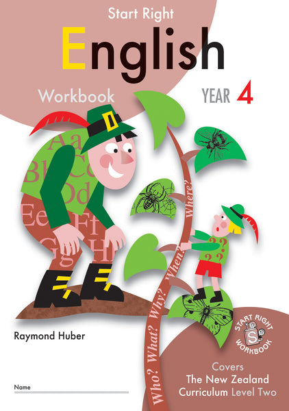 Year 4 English Start Right Workbook