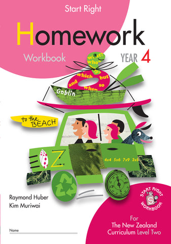 Year 4 Homework Start Right Workbook