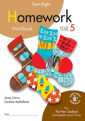 Year 5 Homework Start Right Workbook
