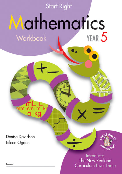 Year 5 Mathematics Start Right Workbook