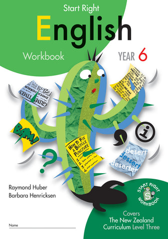 Year 6 English Start Right Workbook