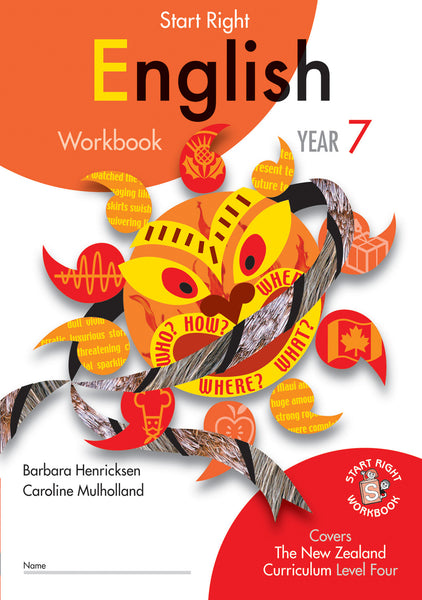Year 7 English Start Right Workbook