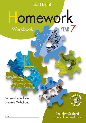 Year 7 Homework Start Right Workbook