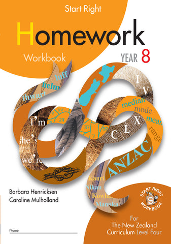 Year 8 Homework Start Right Workbook