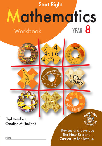 Year 8 Mathematics Start Right Workbook