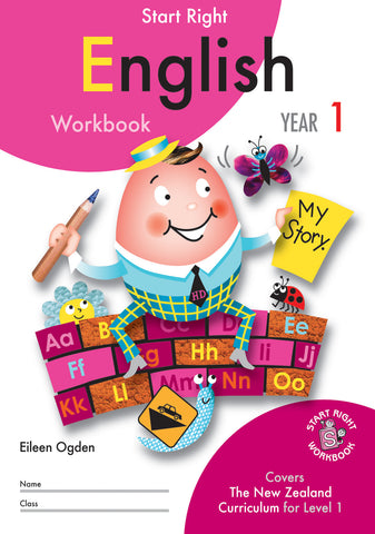 Year 1 English Start Right Workbook