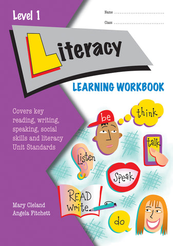 Level 1 Literacy Learning Workbook