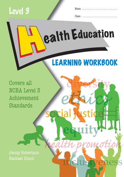 Level 3 Health Education Learning Workbook