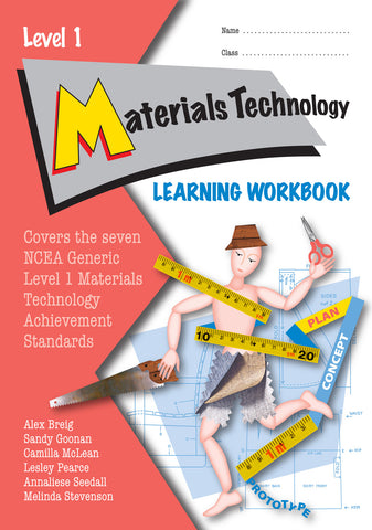 Level 1 Materials Technology Learning Workbook