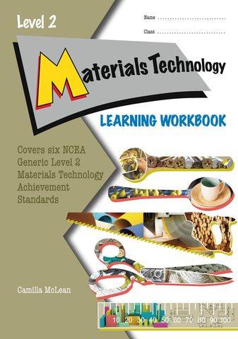 Level 2 Materials Technology Learning Workbook