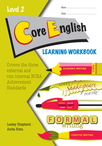 Level 2 CORE English Learning Workbook