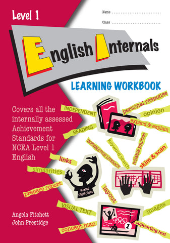 Level 1 English Internals Learning Workbook