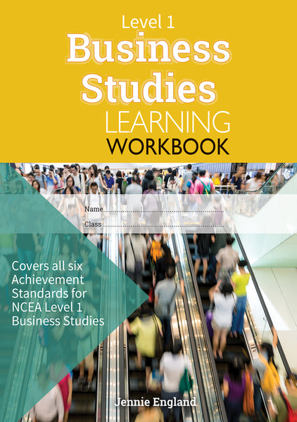 Level 1 Business Studies Learning Workbook