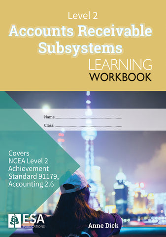 Level 2 Accounts Receivable Subsystems 2.6 Learning Workbook