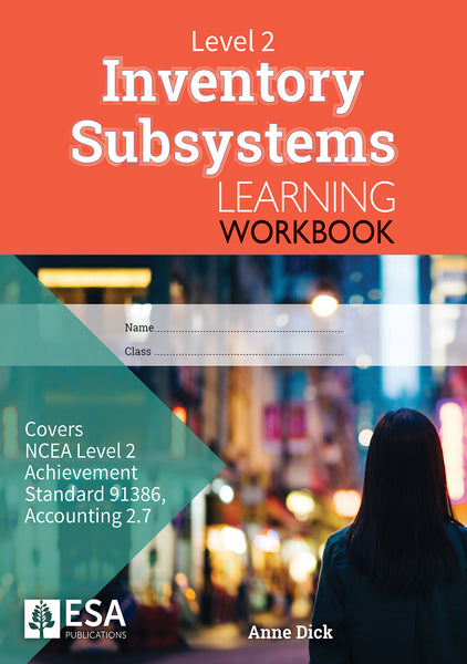 Level 2 Inventory Subsystems 2.7 Learning Workbook