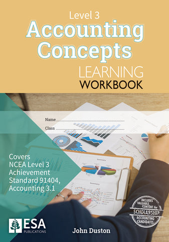 Level 3 Accounting Concepts 3.1 Learning Workbook