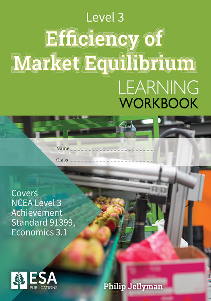 Level 3 Efficiency of Market Equilibrium 3.1 Learning Workbook