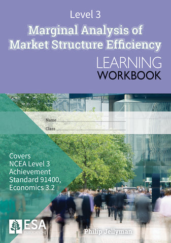 Level 3 Marginal Analysis of Market Structure Efficiency 3.2 Learning Workbook