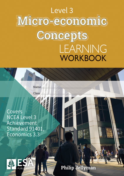 Level 3 Micro-economic Concepts 3.3 Learning Workbook