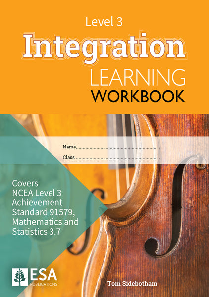 Level 3 Integration 3.7 Learning Workbook (new edition)