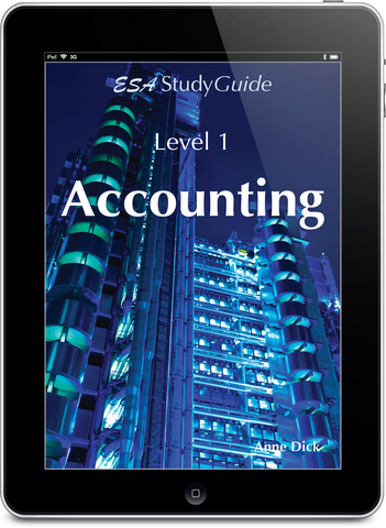 Level 1 Accounting Digital Study Guide