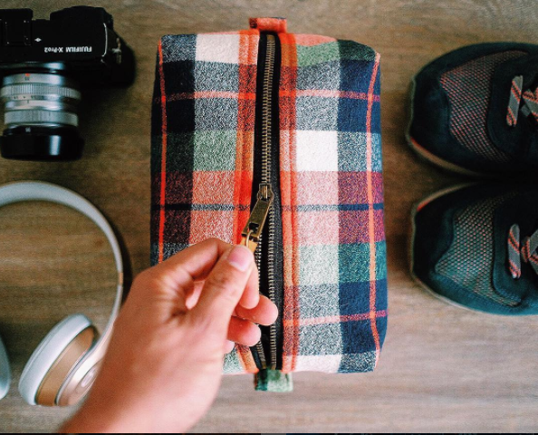 Meet the Men's Toiletry Bag!