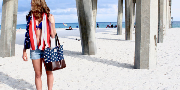 The Stars and Stripes Annie Tote