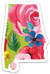 Valere Rene Alabama Floral Sticker