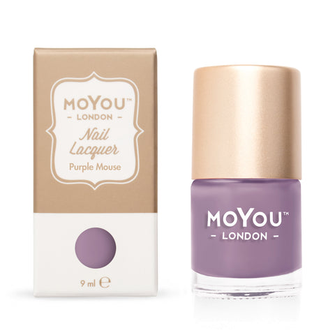 MoYou-London - Purple Mouse Stamping Polish