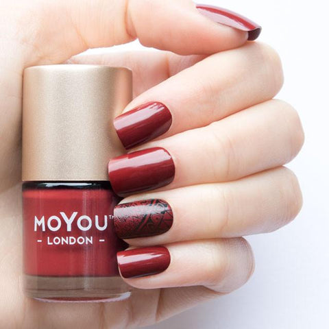 MoYou-London - Rusty Red Stamping Polish
